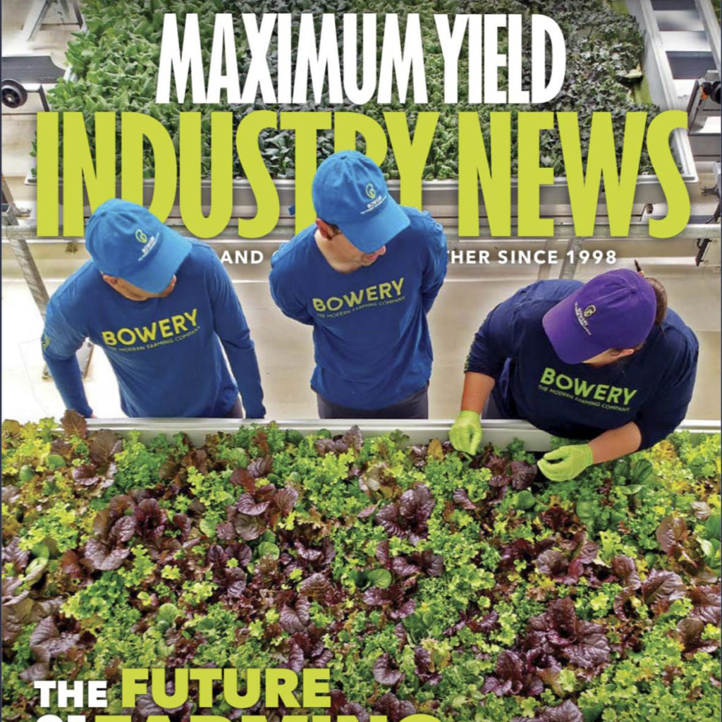 Maximum Yield Magazine – Featured Company: Agnetix
