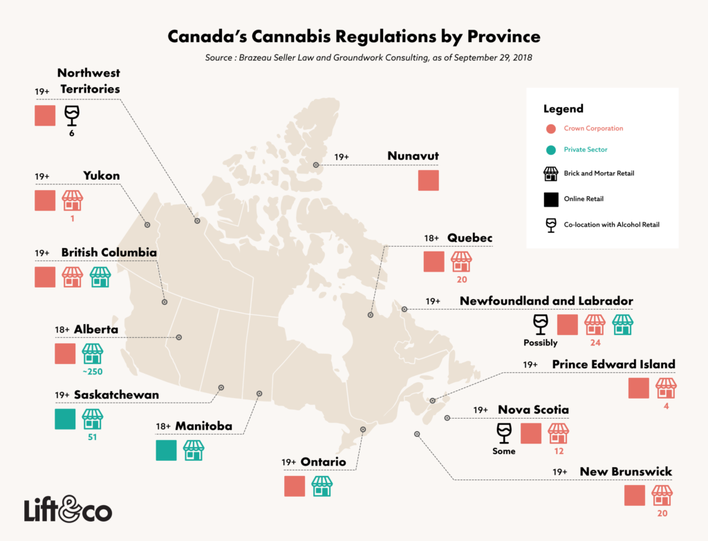 Guide to Canada's Cannabis Legalization Laws by Province